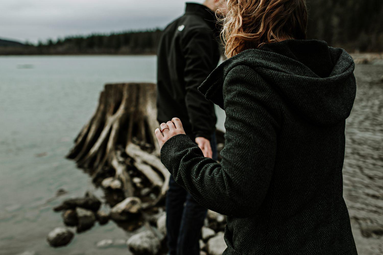 Rattlesnake Lake Engagement Photography